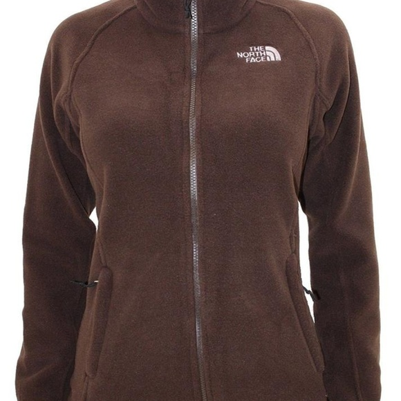 The North Face Jackets & Blazers - North Face Brown Fleece Sweater Jacket